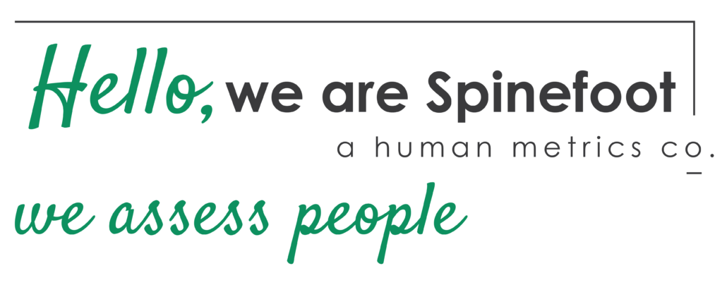 Spinefoot Human Metrics co logo image